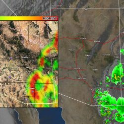 Arizona Monsoon Starts With Normal Influence, Expected To Gain Control After July 4th; Fire Risks Remain Elevated