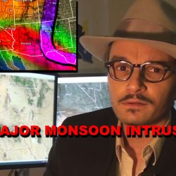 Video:  End June into July 2021 Major Monsoonal Moisture Intrusion Into Southwest United States