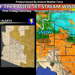 Statewide Wind Event With Double Storm Systems For Some, Damaging Winds For Others, Flagstaff's First Snow, and More -AZWF Wind Models Included Inside